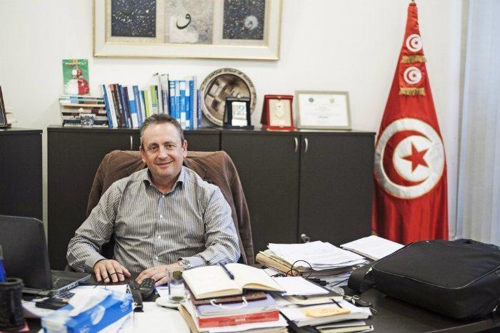 CEMIn johtaja Ahmed Driss haluaa tarjota poliittista koulutusta entistä laajemmalle joukolle | Kuva: Anuliina Savolainen