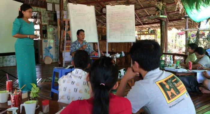 Class at the Tanintharyi Region