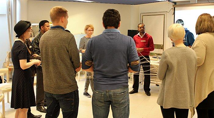 The pilot training in Tampere was hosted by the Centre Party Youth