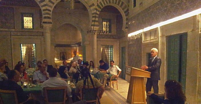 Bulgarian suurlähettiläs osallistui toiseen poliittiseen kuskusiin Kuva: CEMI