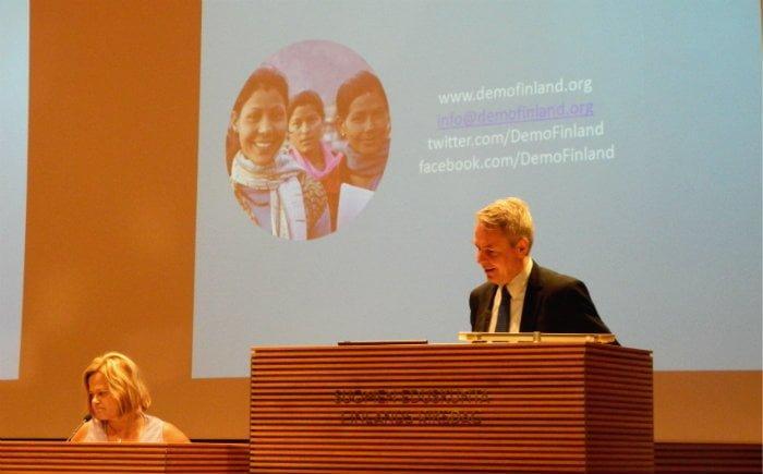 The Minister for International Development, Mr. Pekka Haavisto