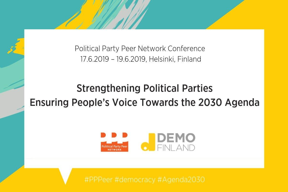 political parties, conference, PPPeer