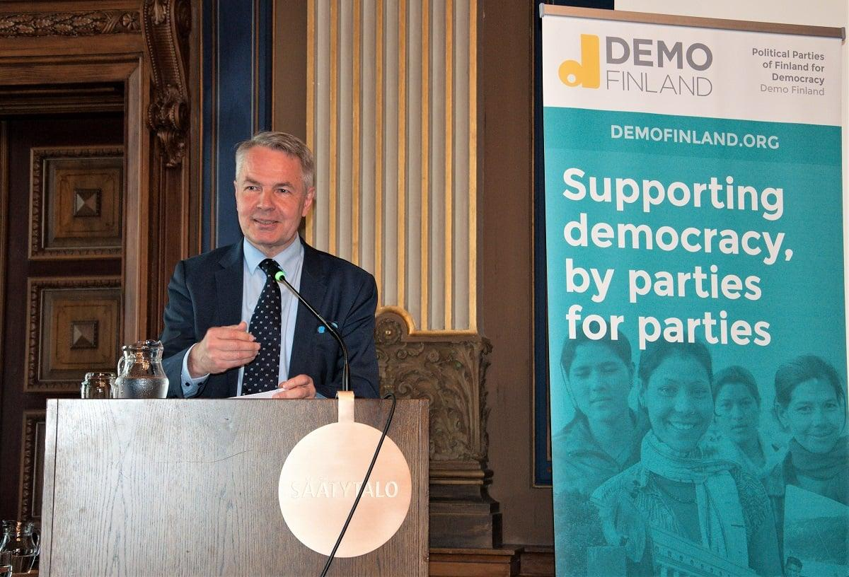 Democracy, Finland, PPPeer, political parties, democracy support